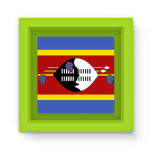 Flag Of Swaziland Magnet Frame Homeware Flagdesignproducts.com