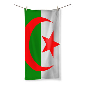Flag Of Algeria Beach Towel Homeware Flagdesignproducts.com