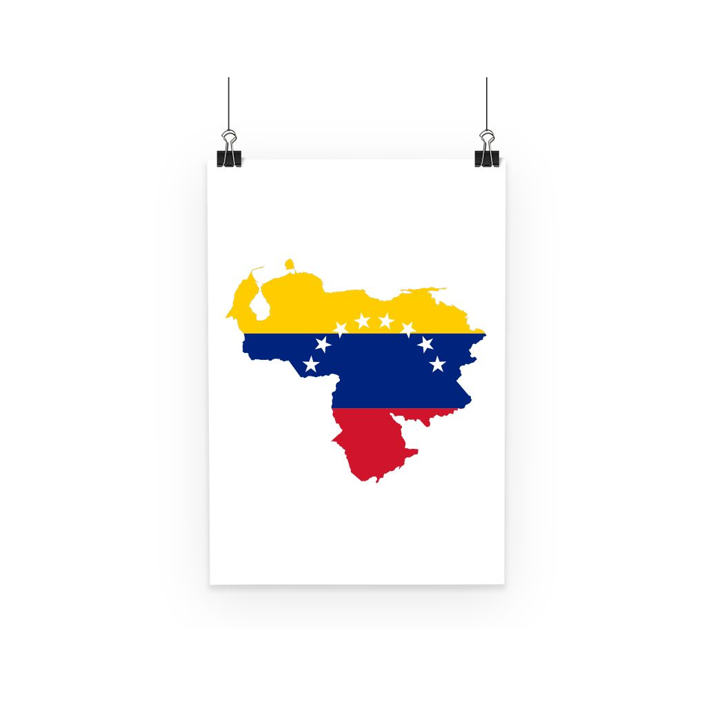 Venezuela Continent Flag Poster Wall Decor Flagdesignproducts.com