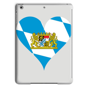 Bavaria Heart Flag Tablet Case Phone & Cases Flagdesignproducts.com