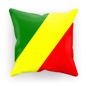 Flag Of The Rep Congo Cushion Homeware Flagdesignproducts.com