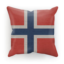 Norway Stone Wall Flag Cushion Homeware Flagdesignproducts.com