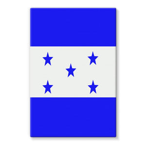 Flag Of Honduras Stretched Eco-Canvas Wall Decor Flagdesignproducts.com
