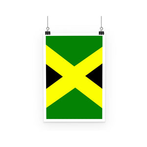Flag Of Jamaica Poster Wall Decor Flagdesignproducts.com