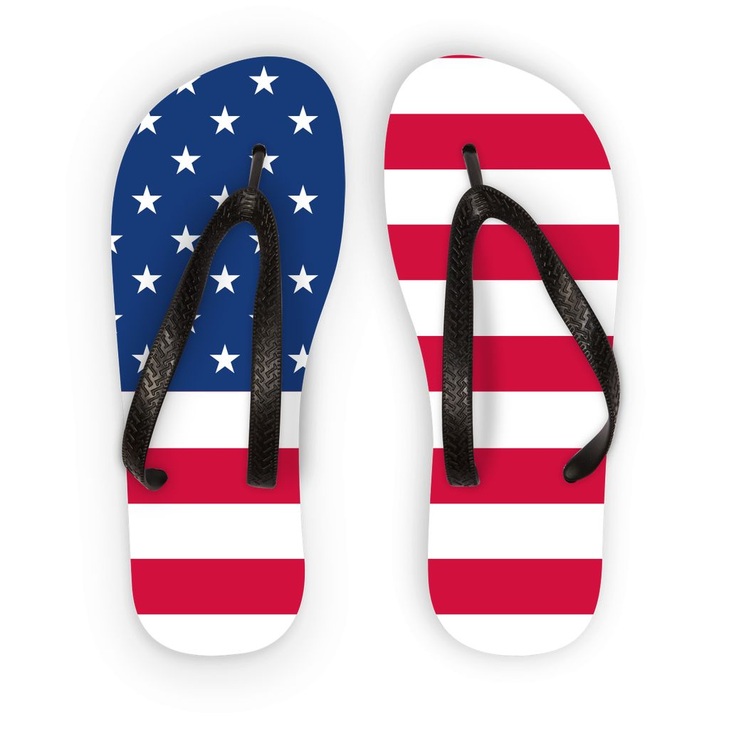 America Flag Flip Flops Accessories Flagdesignproducts.com
