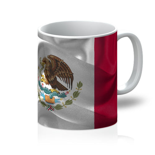 Waving Fabic National Flag Mug Homeware Flagdesignproducts.com