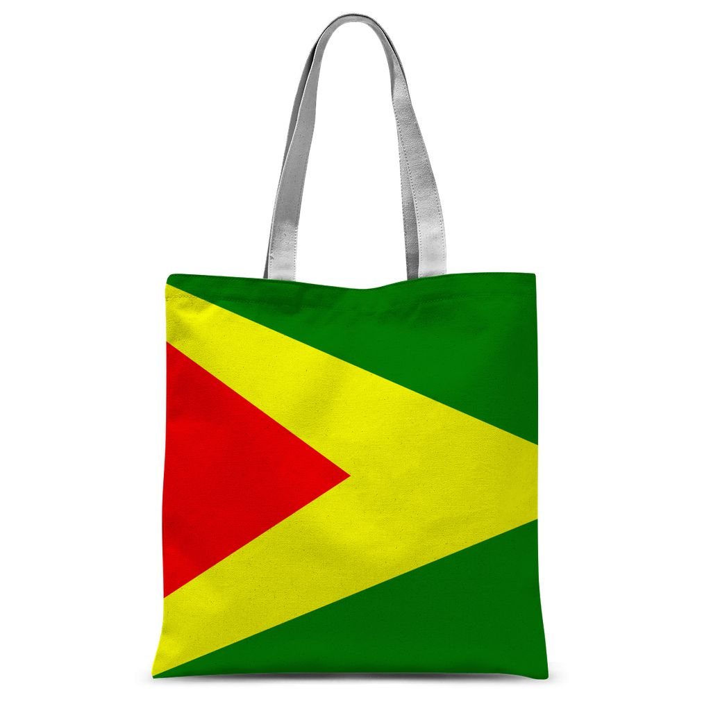 Flag Of Guyana Sublimation Tote Bag Accessories Flagdesignproducts.com