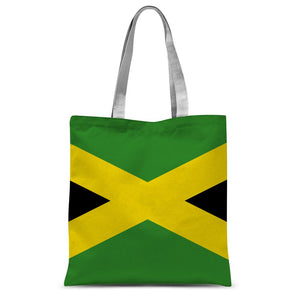 National Flag Of Jamaica Sublimation Tote Bag Accessories Flagdesignproducts.com