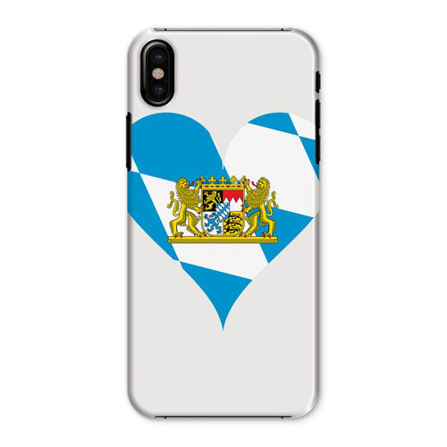 Bavaria Heart Flag Phone Case & Tablet Cases Flagdesignproducts.com