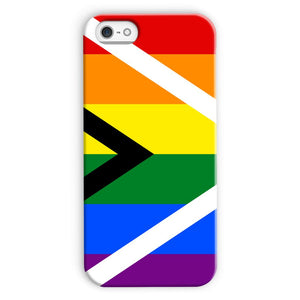 South African Rainbow Flag Phone Case & Tablet Cases Flagdesignproducts.com