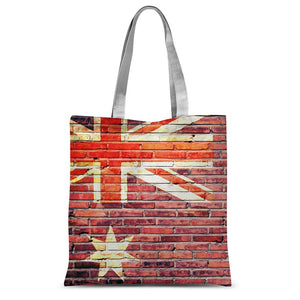 Australia Stone Brick Wall Sublimation Tote Bag Accessories Flagdesignproducts.com