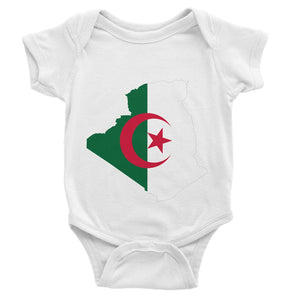 Algeria Continent Flag Baby Bodysuit Apparel Flagdesignproducts.com