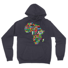 Africa countries flag California Fleece Pullover Hoodie