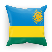 Flag Of Rwanda Cushion Homeware Flagdesignproducts.com
