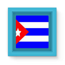 Flag Of Cuba Magnet Frame Homeware Flagdesignproducts.com