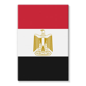Basic Egypt Flag Stretched Eco-Canvas Wall Decor Flagdesignproducts.com
