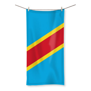 Flag Republic Of Congo Beach Towel Homeware Flagdesignproducts.com