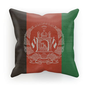 Afganistan Stone Wall Flag Cushion Homeware Flagdesignproducts.com