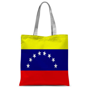 Flag Of Venezuela Sublimation Tote Bag Accessories Flagdesignproducts.com