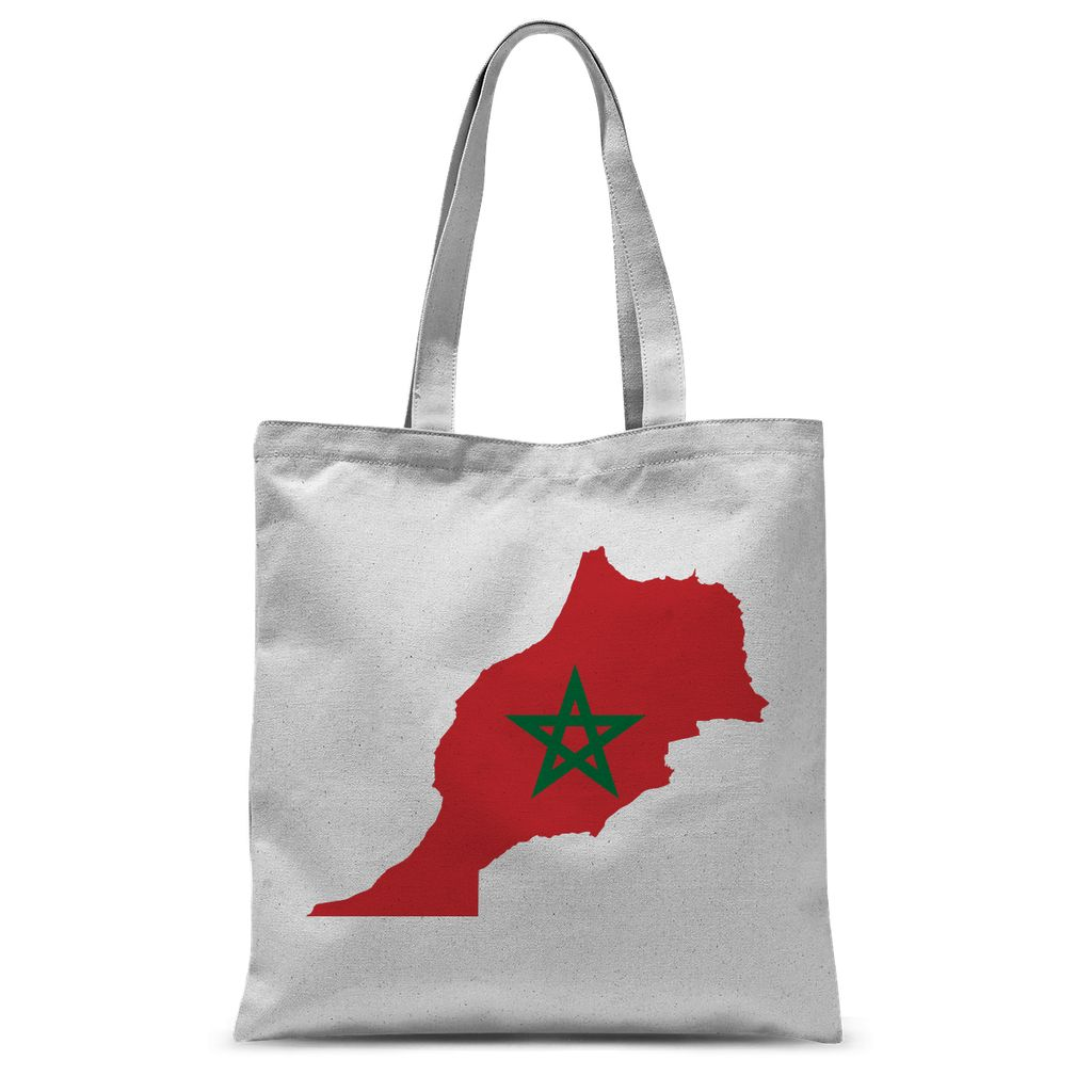 Morocco Continent Flag Sublimation Tote Bag Accessories Flagdesignproducts.com