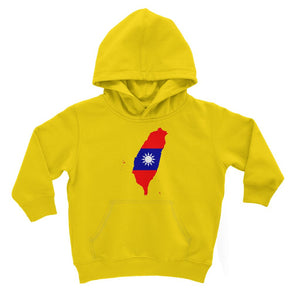Taiwan Continent Flag Kids Hoodie Apparel Flagdesignproducts.com