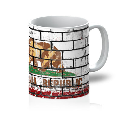 California State Wall flag Mug - FlagDesignProducts