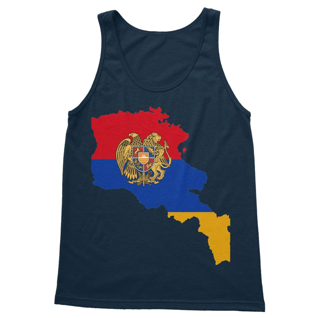 Armenia Continent Flag Softstyle Tank Top Apparel Flagdesignproducts.com