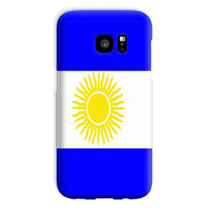 Flag Of Argentina Phone Case & Tablet Cases Flagdesignproducts.com