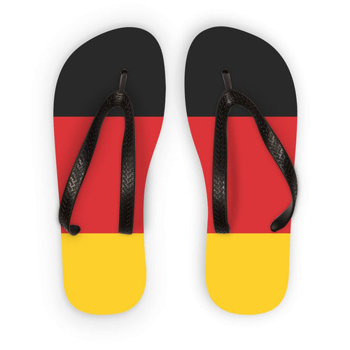 Basic Flag Of Germany Flip Flops Accessories Flagdesignproducts.com