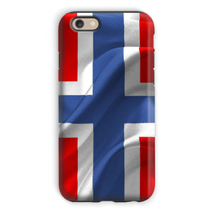 Flag Of Norway Phone Case & Tablet Cases Flagdesignproducts.com