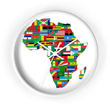 Africa Countries Flag Wall Clock Home Decor Flagdesignproducts.com