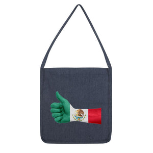 Mexico Hand Flag Tote Bag Accessories Flagdesignproducts.com