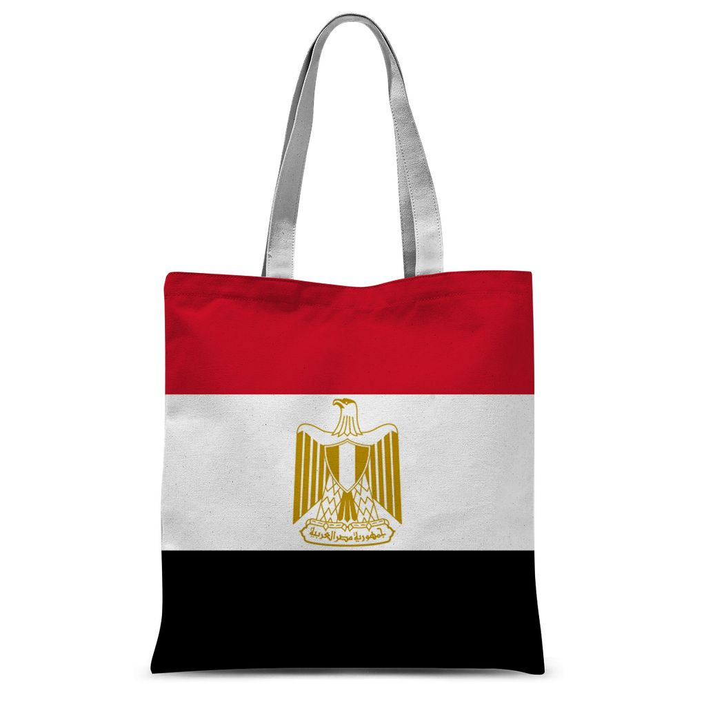 Basic Egypt Flag Sublimation Tote Bag Accessories Flagdesignproducts.com