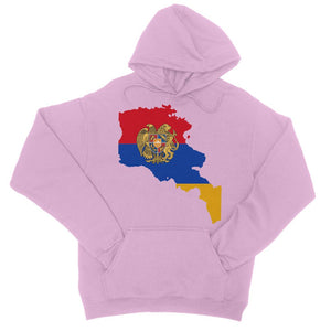 Armenia Continent Flag College Hoodie Apparel Flagdesignproducts.com