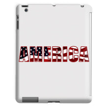 America Text With Flag Tablet Case Phone & Cases Flagdesignproducts.com