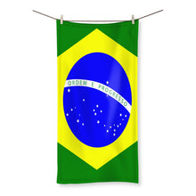 Flag Of Brazil Beach Towel Homeware Flagdesignproducts.com