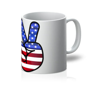 America Fingers Flag Mug Homeware Flagdesignproducts.com