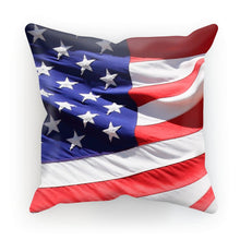 Waving America Usa Flag Cushion Homeware Flagdesignproducts.com