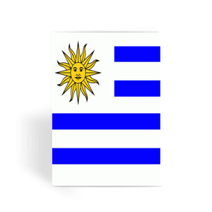 Flag Of Uruguay Greeting Card Prints Flagdesignproducts.com