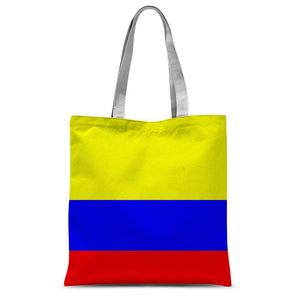 Flag Of Colombia Sublimation Tote Bag Accessories Flagdesignproducts.com