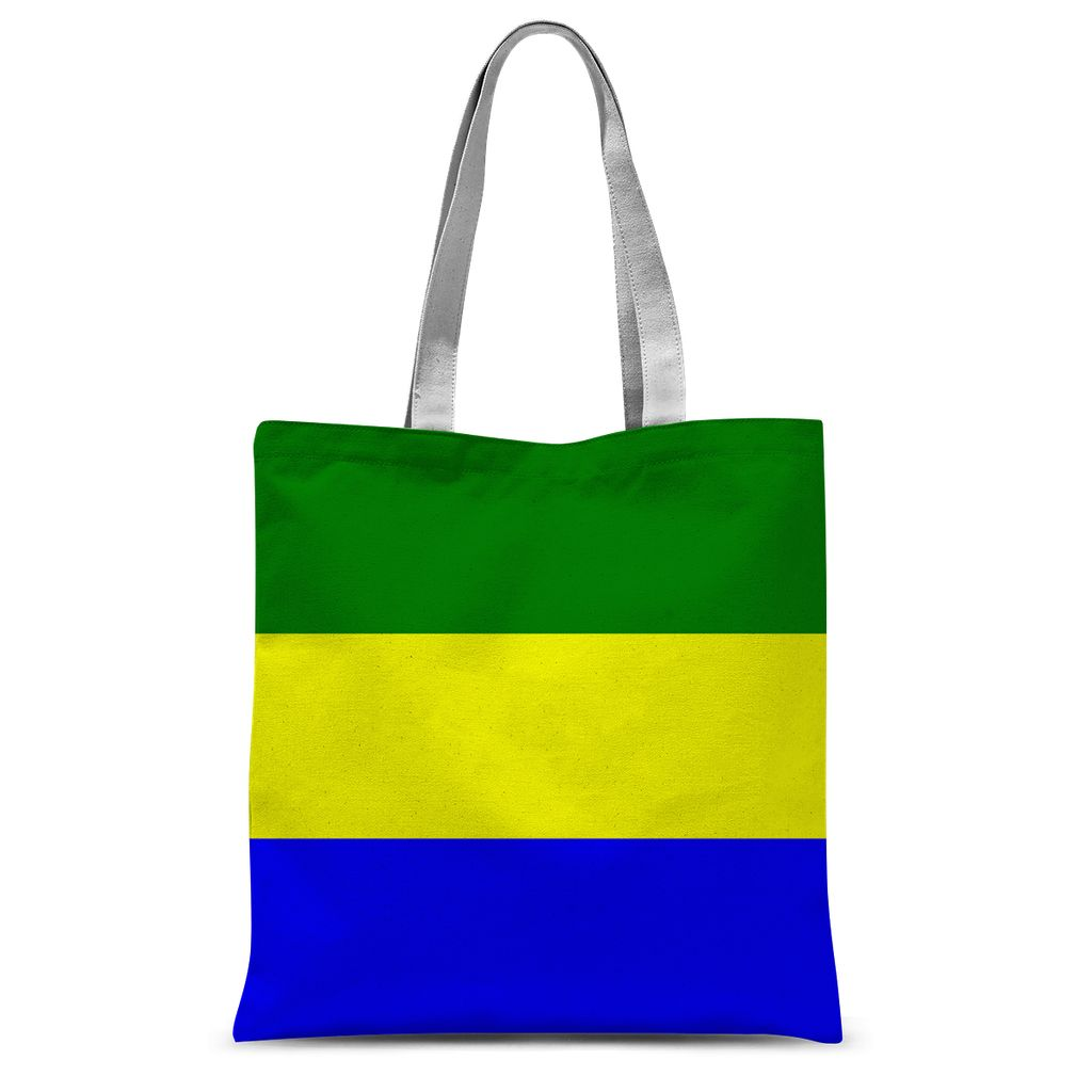 Flag Of Gabon Sublimation Tote Bag Accessories Flagdesignproducts.com