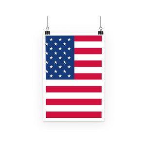 America Flag Poster Wall Decor Flagdesignproducts.com