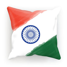 Watercolor India Flag Cushion Homeware Flagdesignproducts.com