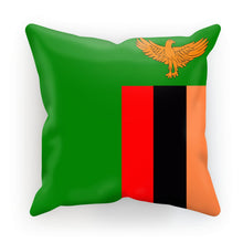 Flag Of Zambia Cushion Homeware Flagdesignproducts.com