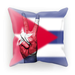 Cuba Flag And Hand Cushion Homeware Flagdesignproducts.com