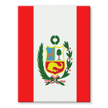 Flag Of Peru Stretched Canvas Wall Decor Flagdesignproducts.com