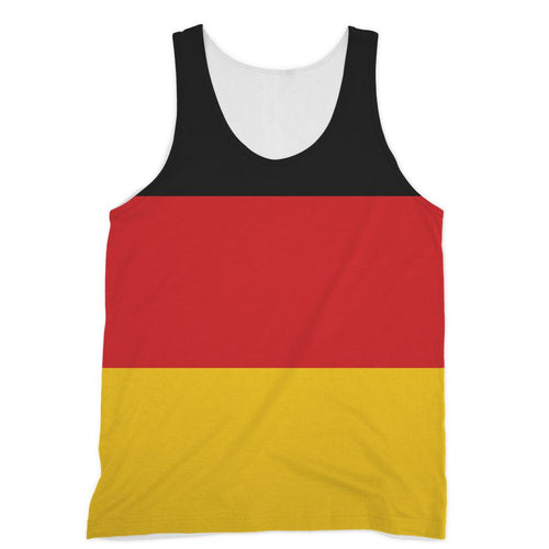 Basic Flag Of Germany Sublimation Vest Apparel Flagdesignproducts.com