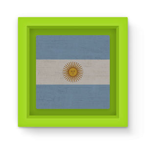 Argentina Stone Wall Flag Magnet Frame Homeware Flagdesignproducts.com