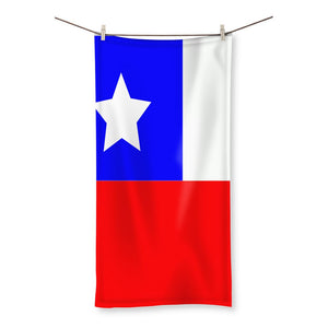 Flag Of Chile Beach Towel Homeware Flagdesignproducts.com