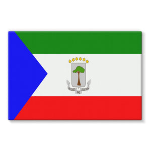 Flagof Equatorial Guinea Stretched Eco-Canvas Wall Decor Flagdesignproducts.com